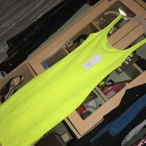 Zara Neon Dress  sz S